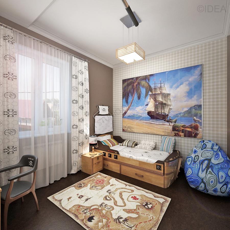 Дизайн студия IDEA интерьер-164