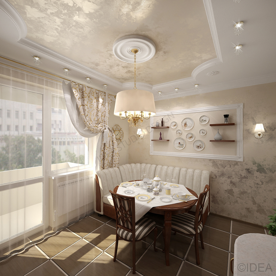 Дизайн студия IDEA интерьер-213