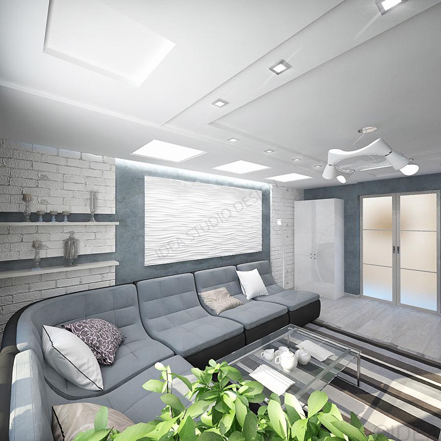 Дизайн студия IDEA интерьер-55