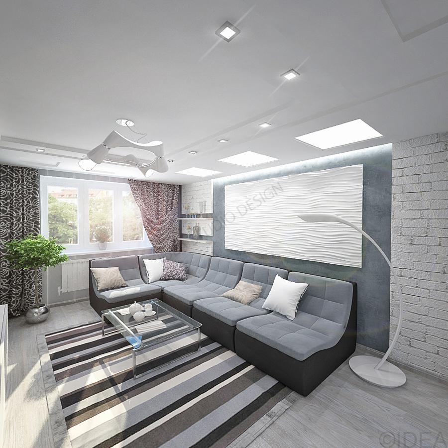 Дизайн студия IDEA интерьер-57