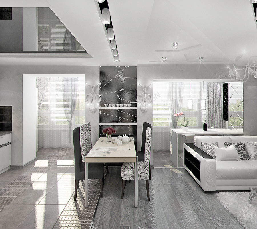 Дизайн студия IDEA интерьер-595