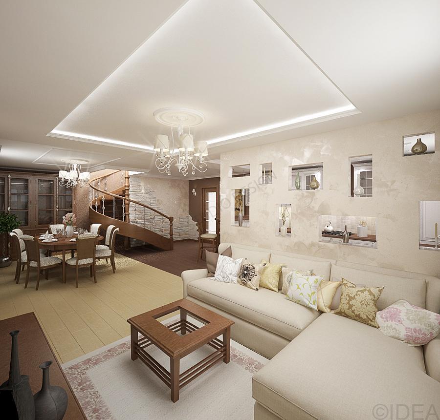 Дизайн студия IDEA интерьер-615