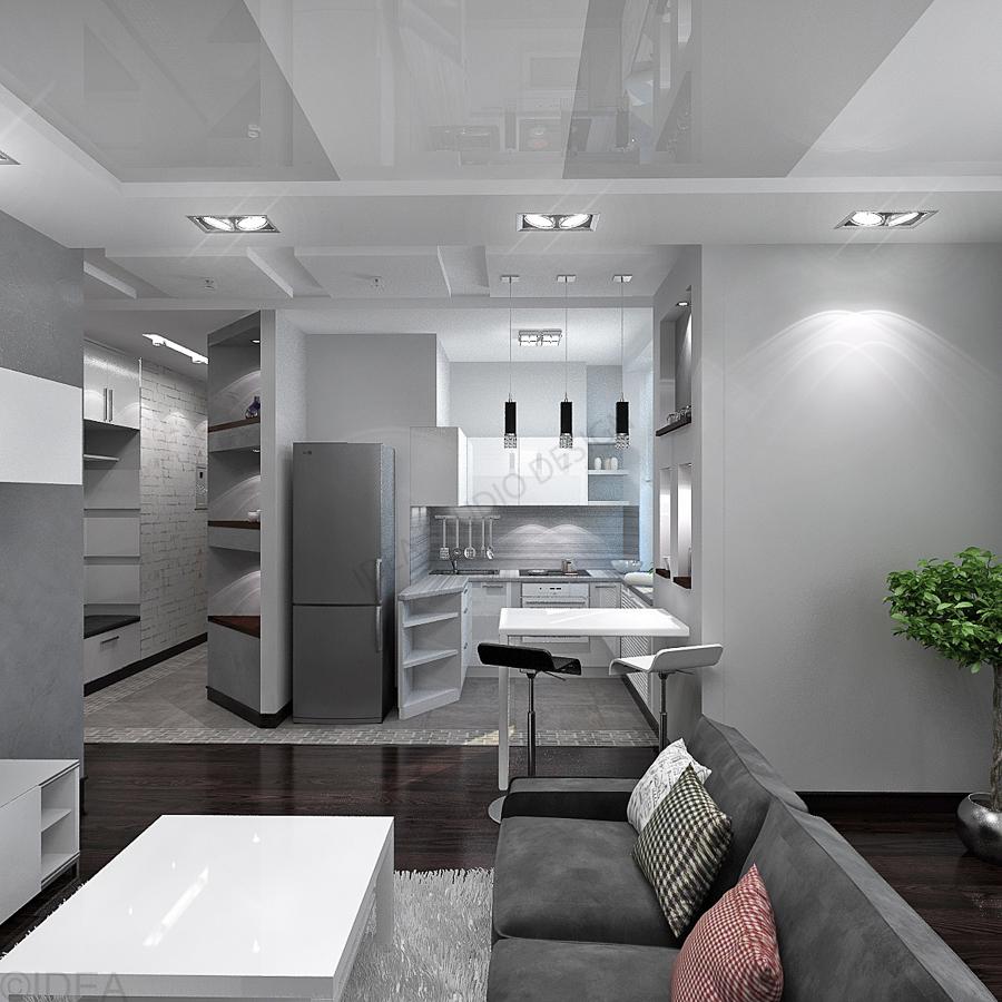 Дизайн студия IDEA интерьер-644