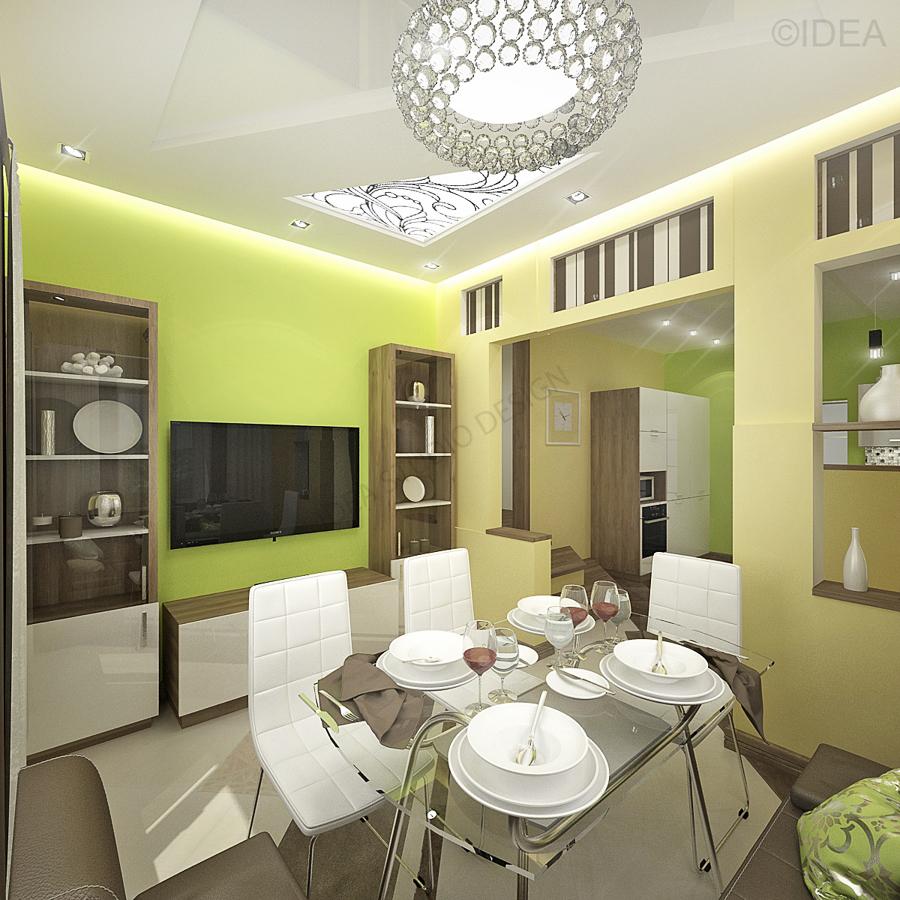 Дизайн студия IDEA интерьер-654