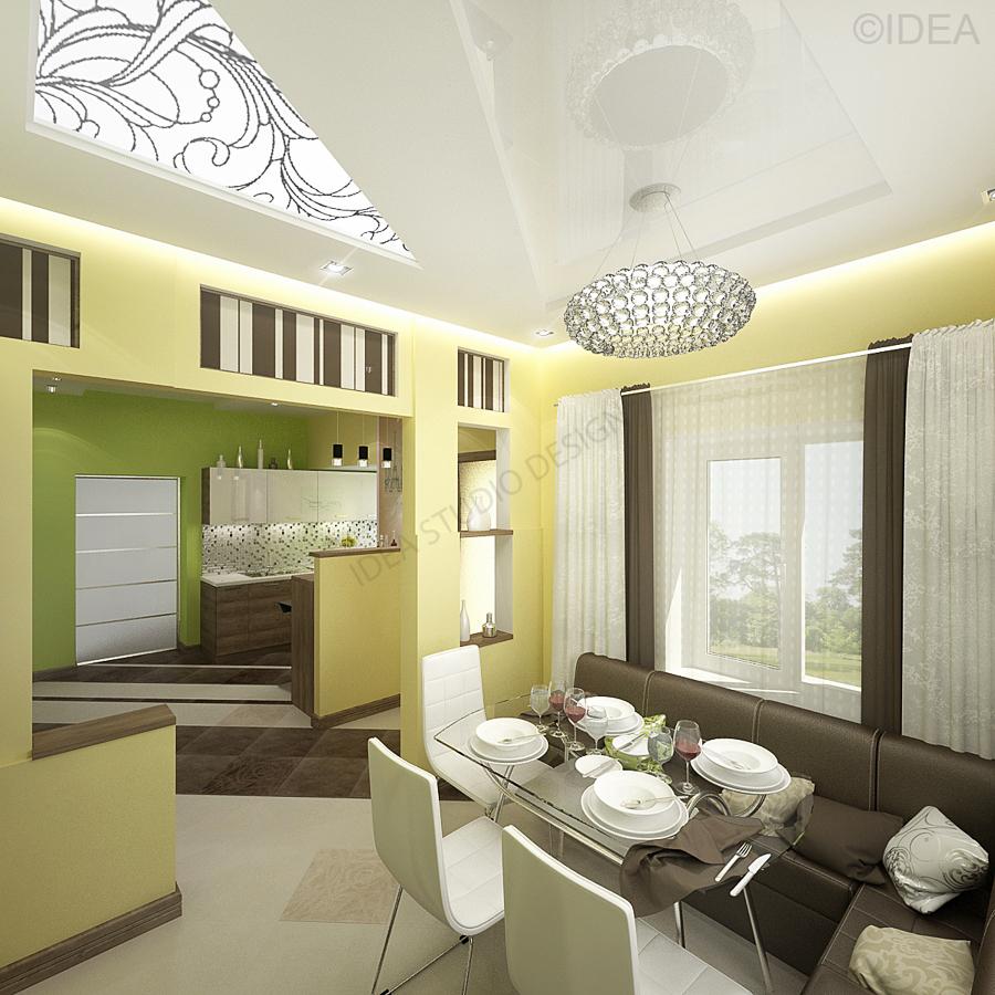 Дизайн студия IDEA интерьер-655
