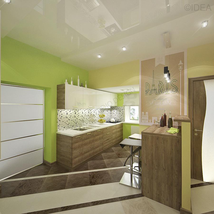 Дизайн студия IDEA интерьер-657