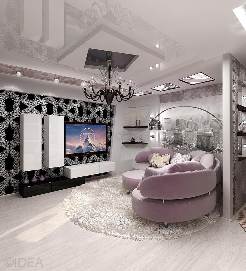 Дизайн студия IDEA интерьер-681