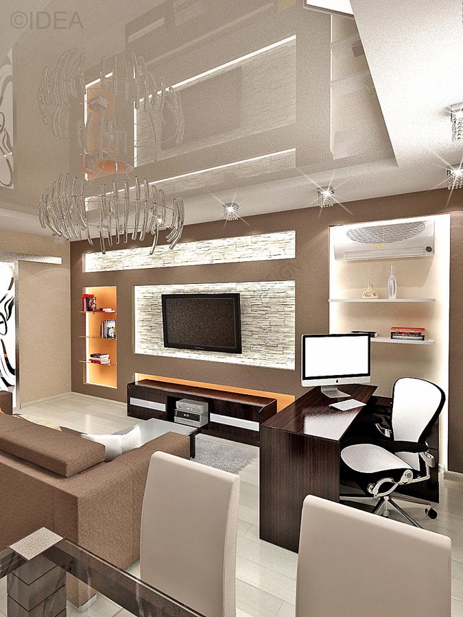 Дизайн студия IDEA интерьер-695