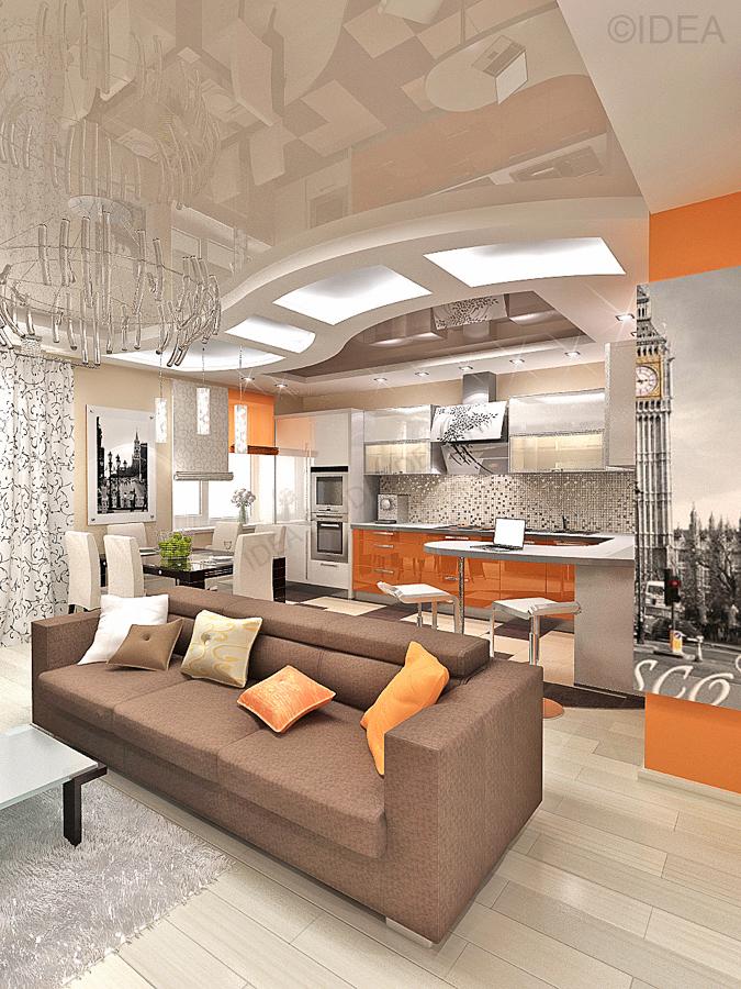 Дизайн студия IDEA интерьер-698