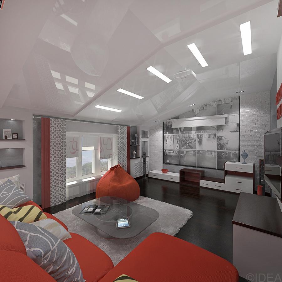 Дизайн студия IDEA интерьер-70