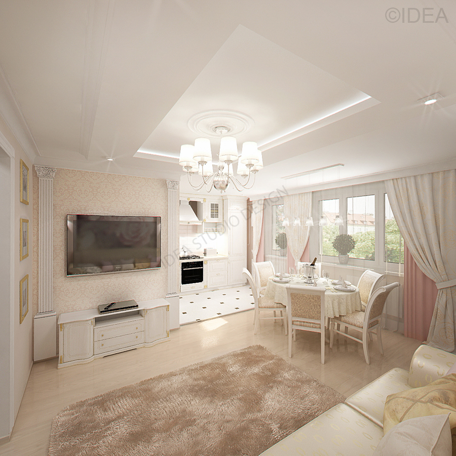 Дизайн студия IDEA интерьер-705
