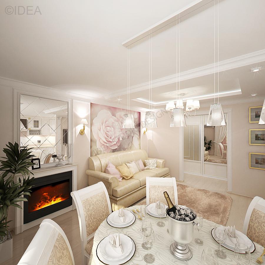 Дизайн студия IDEA интерьер-706