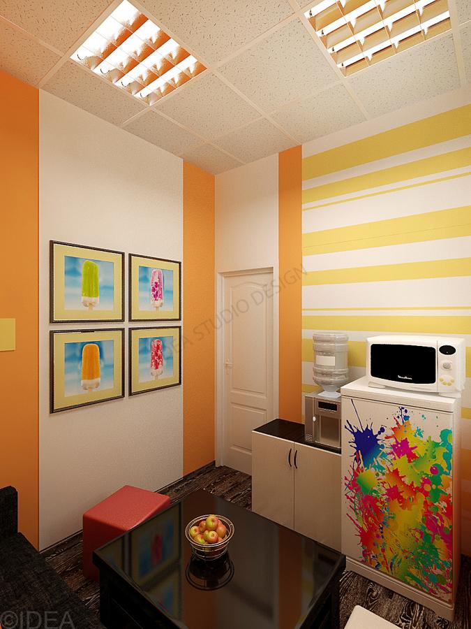 Дизайн студия IDEA интерьер общественный-12