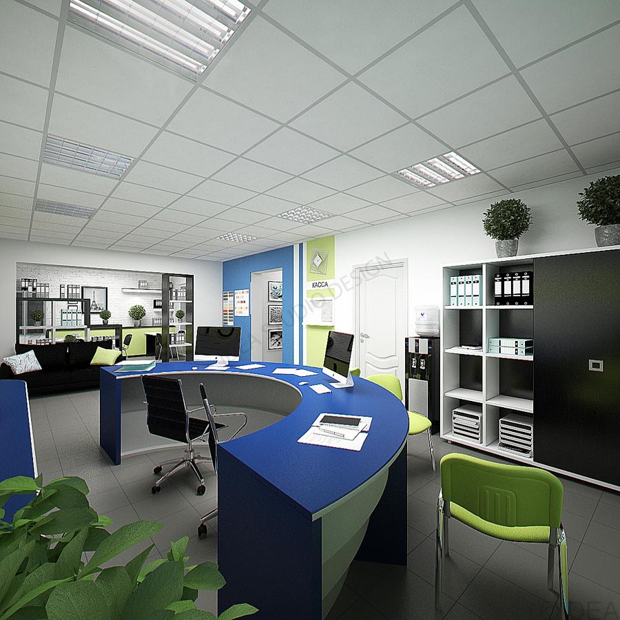 Дизайн студия IDEA интерьер общественный-124