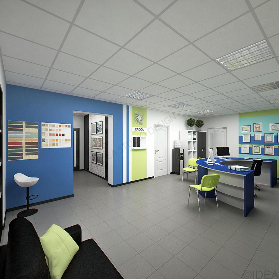 Дизайн студия IDEA интерьер общественный-125