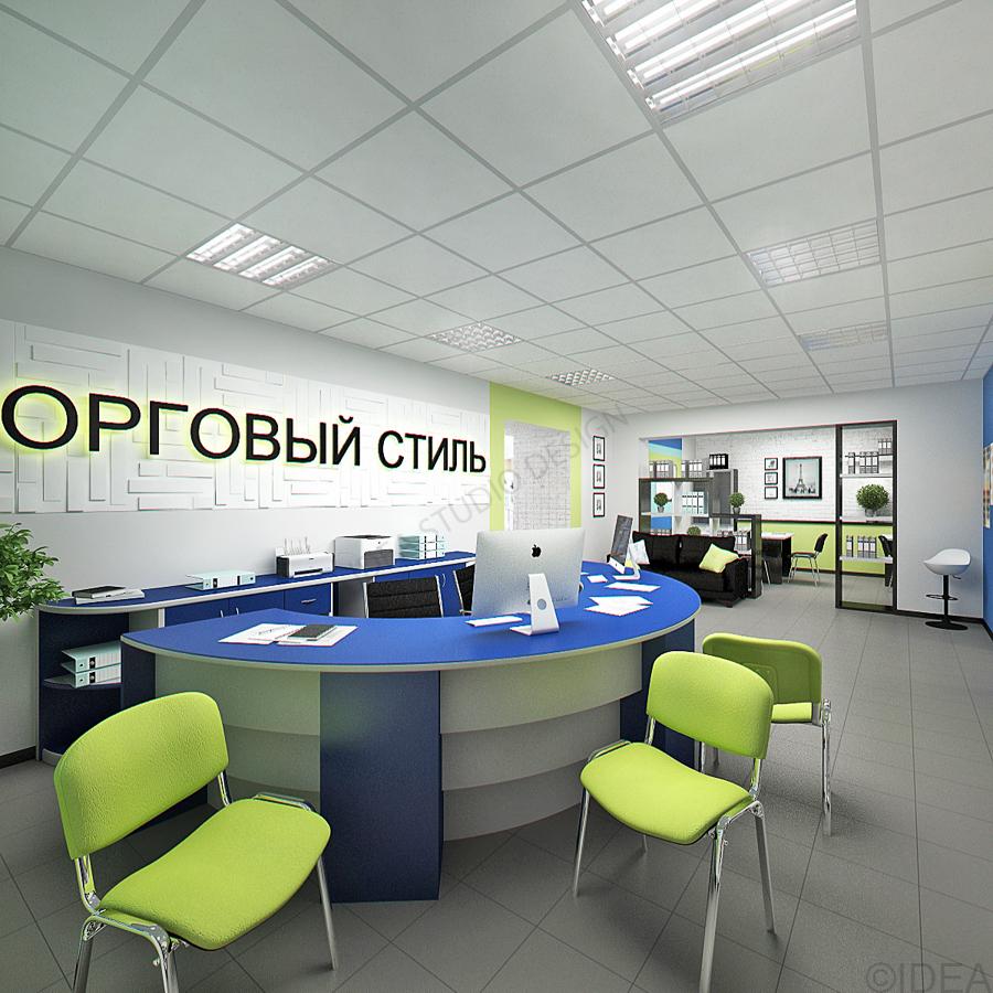Дизайн студия IDEA интерьер общественный-127