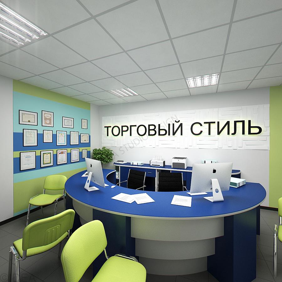 Дизайн студия IDEA интерьер общественный-128
