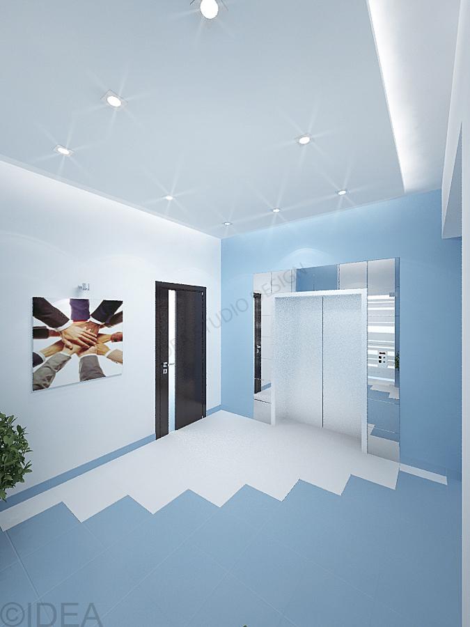 Дизайн студия IDEA интерьер общественный-149