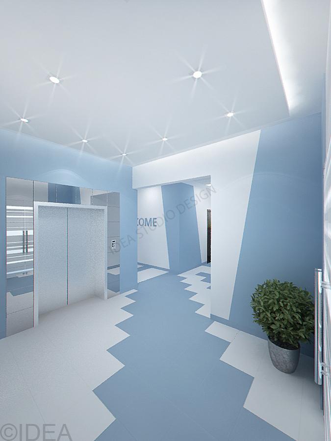 Дизайн студия IDEA интерьер общественный-151