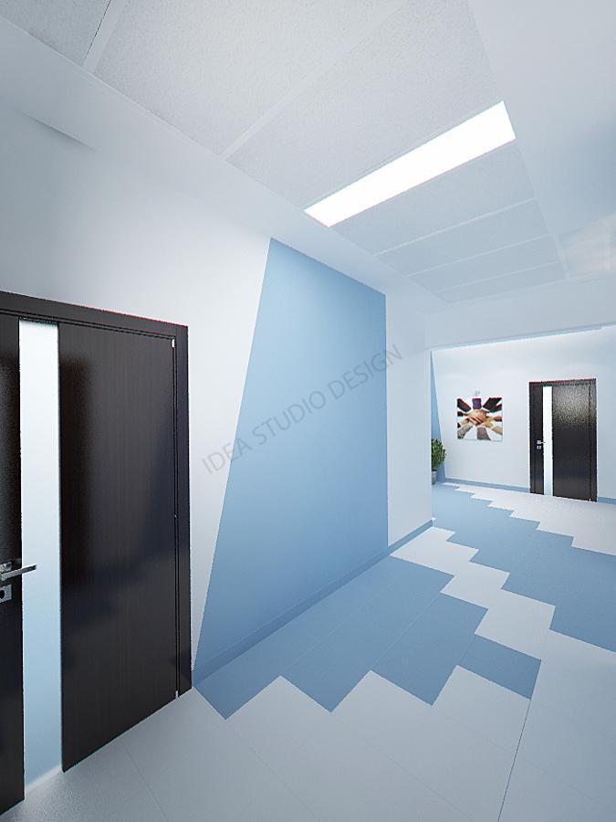 Дизайн студия IDEA интерьер общественный-155