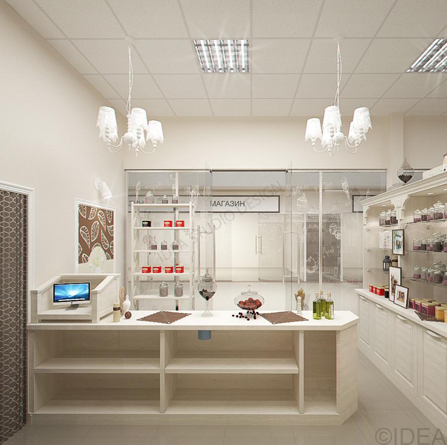 Дизайн студия IDEA интерьер общественный-183