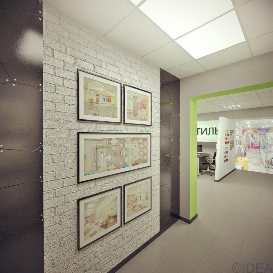 Дизайн студия IDEA интерьер общественный-205