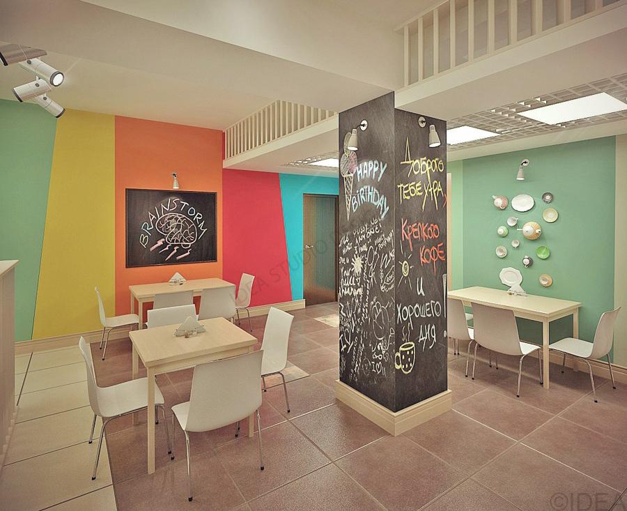 Дизайн студия IDEA интерьер общественный-212