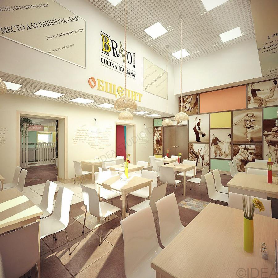 Дизайн студия IDEA интерьер общественный-213