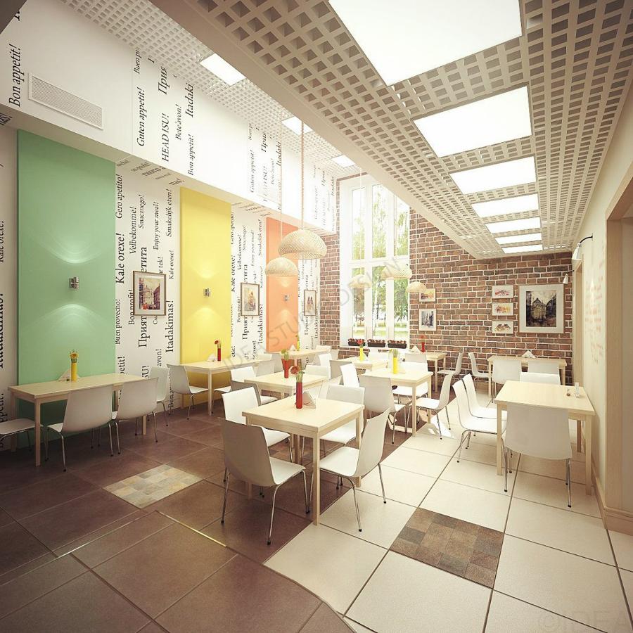 Дизайн студия IDEA интерьер общественный-215