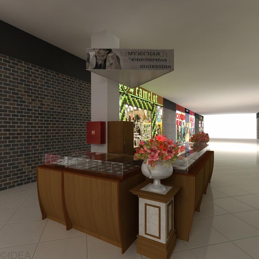Дизайн студия IDEA интерьер общественный-222