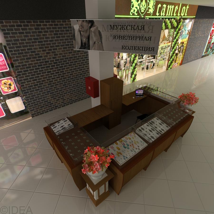 Дизайн студия IDEA интерьер общественный-223