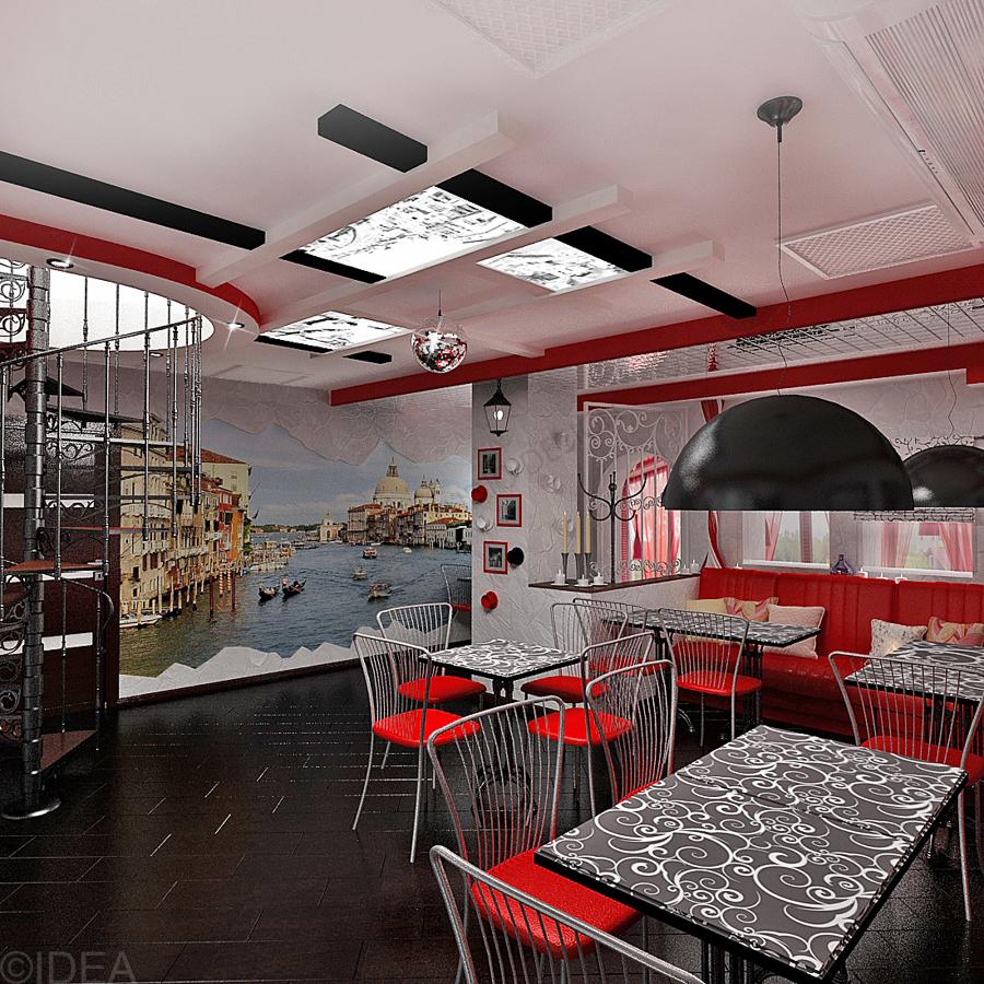 Дизайн студия IDEA интерьер общественный-30