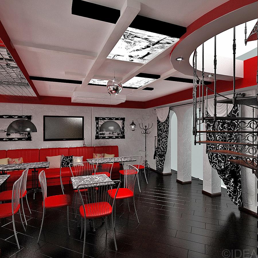 Дизайн студия IDEA интерьер общественный-31