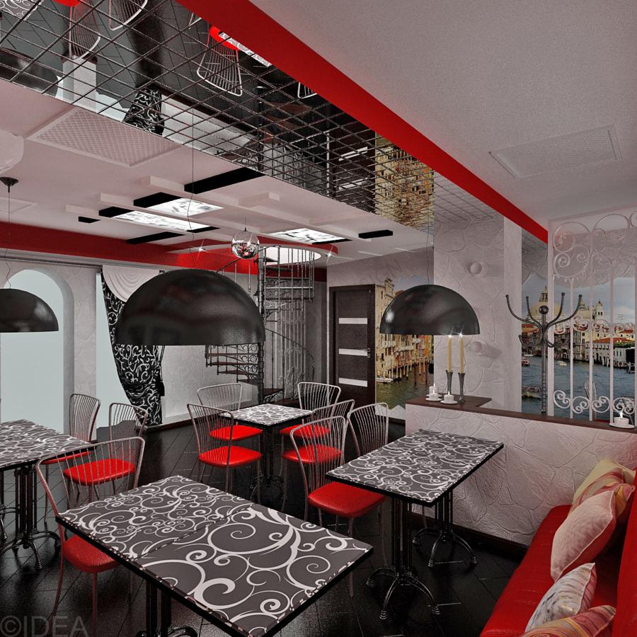 Дизайн студия IDEA интерьер общественный-32