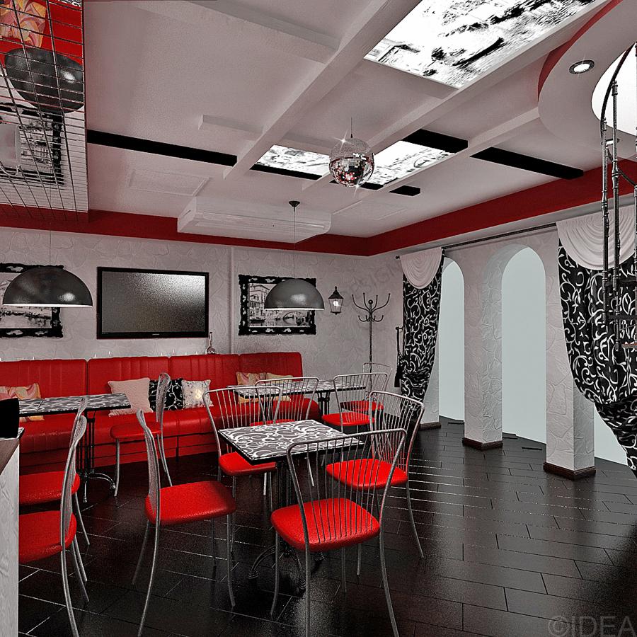 Дизайн студия IDEA интерьер общественный-33