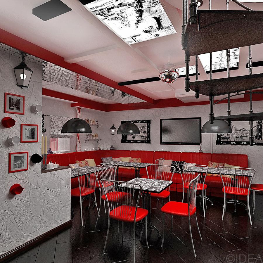 Дизайн студия IDEA интерьер общественный-34
