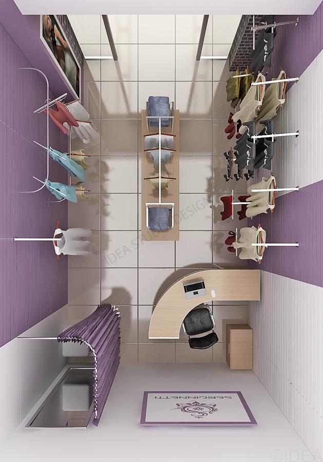 Дизайн студия IDEA интерьер общественный-55
