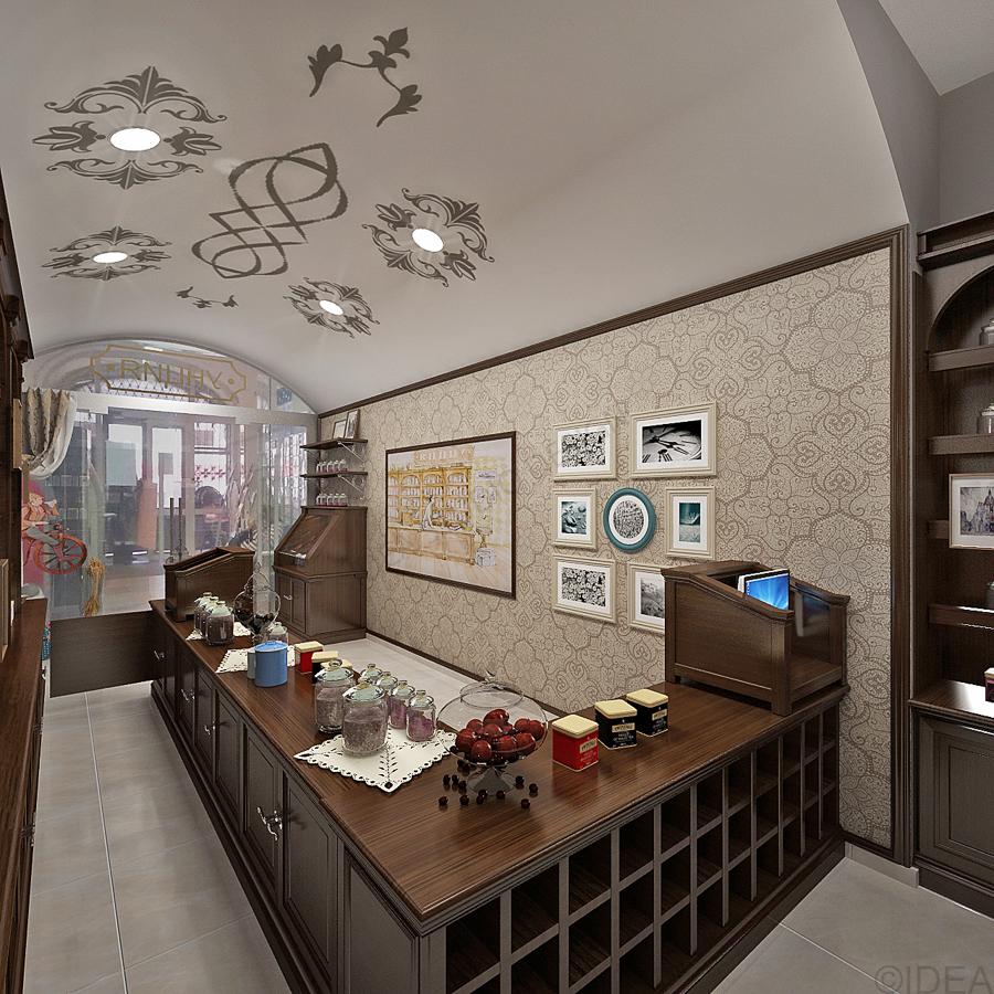 Дизайн студия IDEA интерьер общественный-82