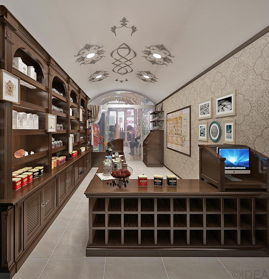 Дизайн студия IDEA интерьер общественный-83