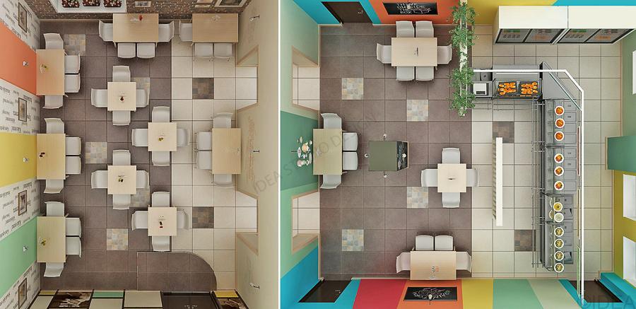 Дизайн студия IDEA интерьер общественный-88