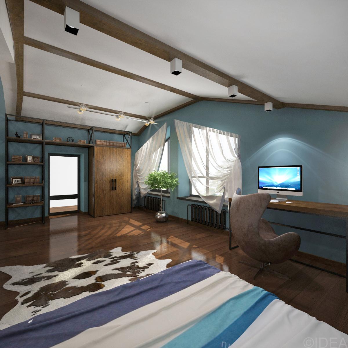 спальня лофт (2)