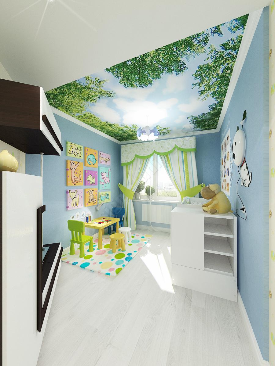Дизайн студия IDEA дизайн детской 1 (1)