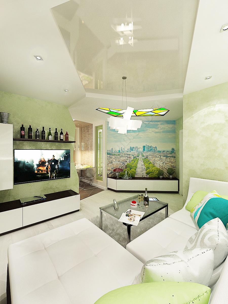 Дизайн студия IDEA дизайн гостиной 2 (1)