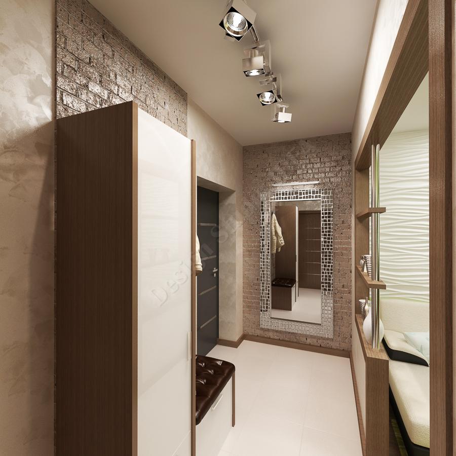 Дизайн студия IDEA дизайн коридора 000 (1)
