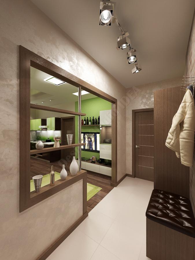 Дизайн студия IDEA дизайн коридора 000 (3)