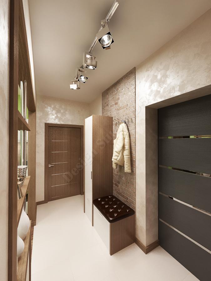 Дизайн студия IDEA дизайн коридора 000 (4)