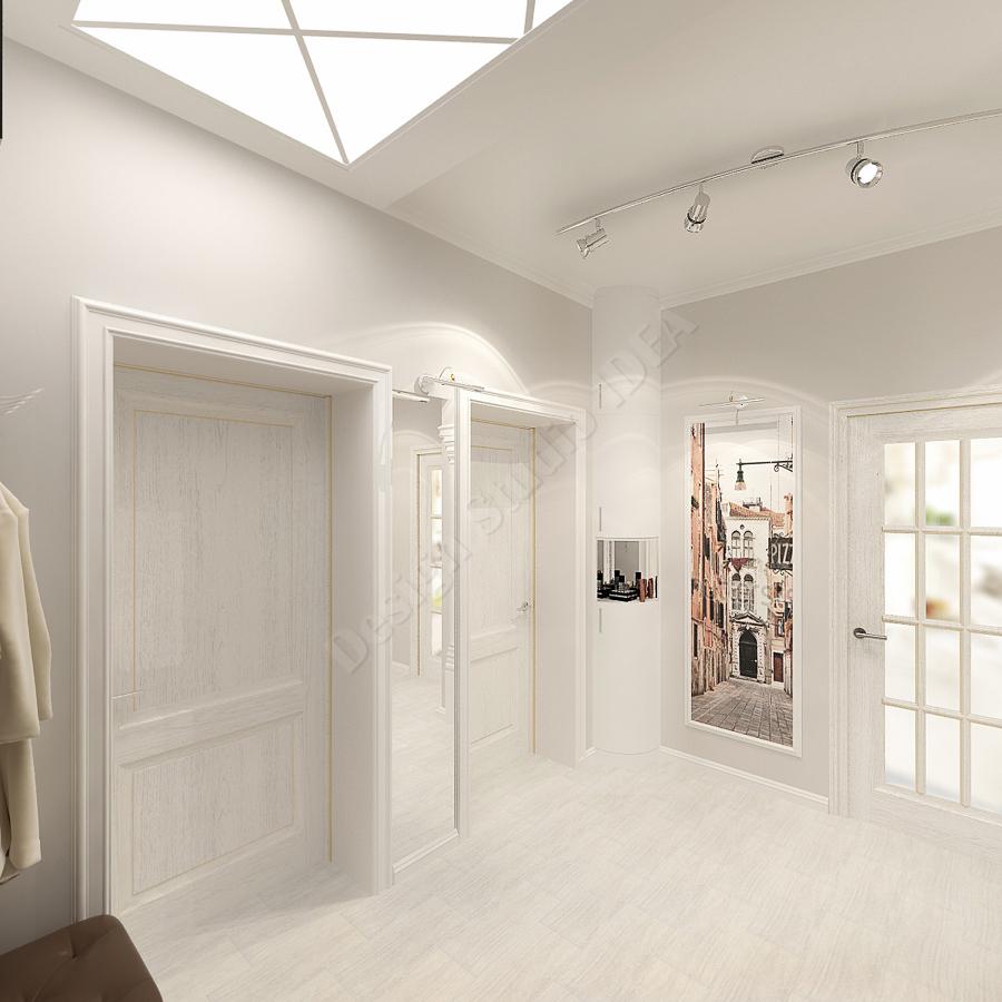 Дизайн студия IDEA дизайн коридора (1)