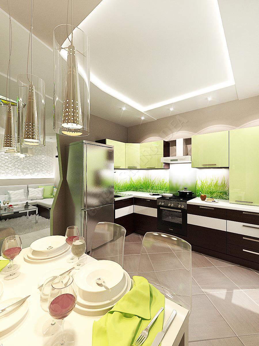 Дизайн студия IDEA дизайн кухни 3 (1)
