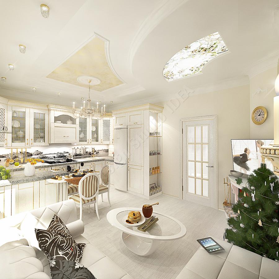 Дизайн студия IDEA дизайн кухни (1)