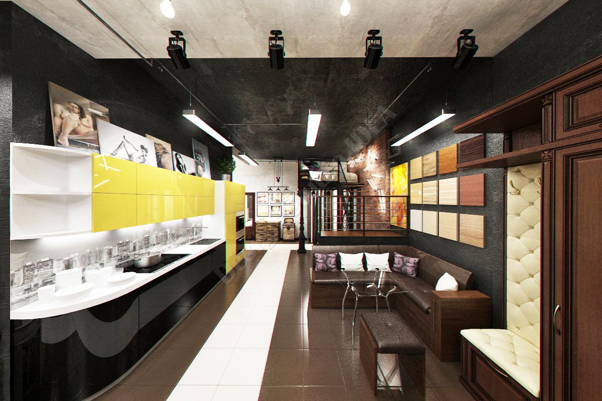 Дизайн студия IDEA дизайн шоу рума
